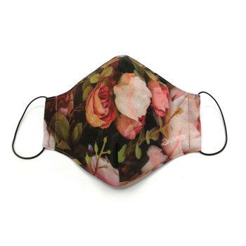 designovo ochranne rusko so striebrom floral kvety roses ruze